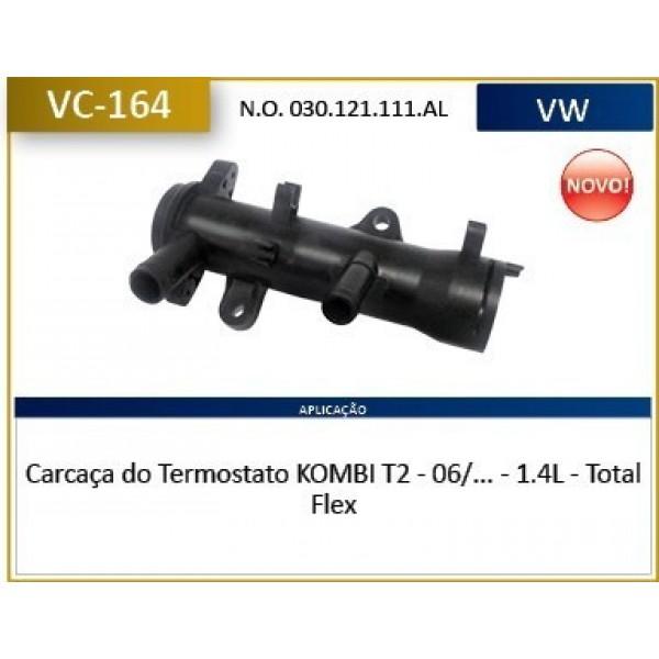 Carcaça Valvula Termostatica Kombi 1.4 Flex