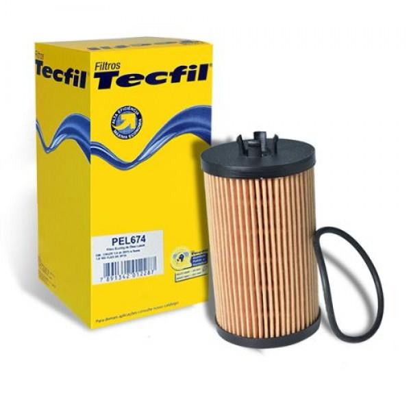 Filtro Oleo Tecfil Chevrolet Cruze 1.8 2011/2016 E...
