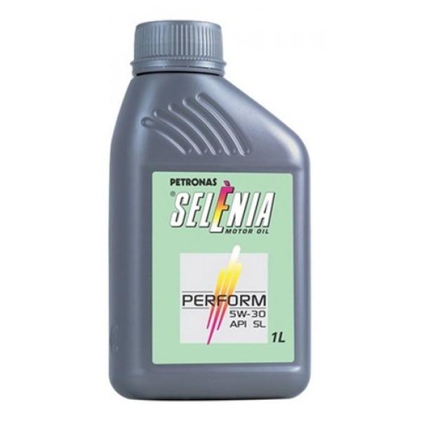 Óleo De Motor Sintético  5w30 Api Sl Selenia 1 L...