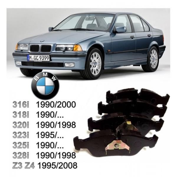 Pastilha De Freio Dianteira BMW 316 / 318 / 320 / ...