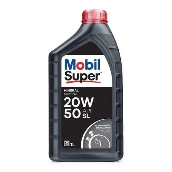 Óleo Mobil 20w50 Sl Super Original Mineral 1 Litr...