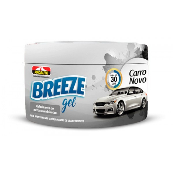 Breeze Gel Proauto Odorizante Carro Novo 60G