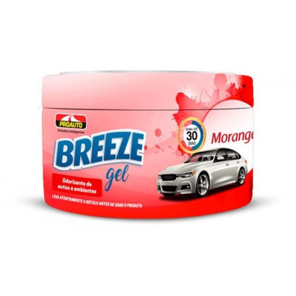 Breeze Gel Proauto Odorizante Morango 60G