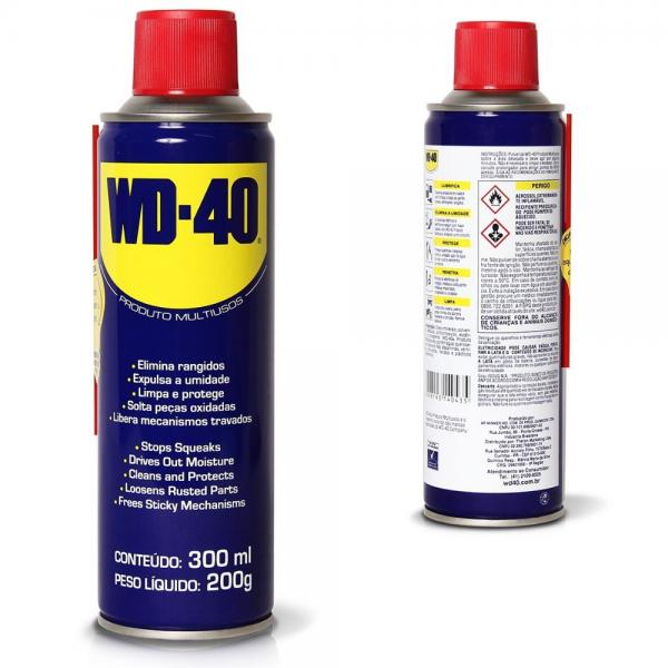 Spray Lubrificante Multiuso 300ml - WD-40