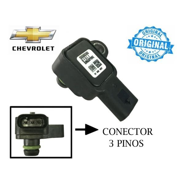Sensor De Pressão Ar Map Gm Onix 1.0 Turbo 555003...