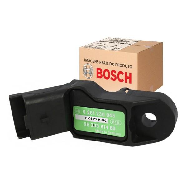 Sensor Map Peugeot 206/ 307 1.6 16v 02/ Bosch - 02...