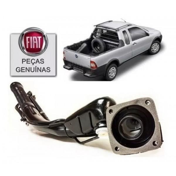 Bocal Do Tanque De Combustível Original Fiat Stra...