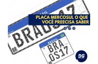 Placa Mercosul
